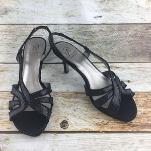Adrianna Papell Nora Slingback Heel Black 7 1/2 M
